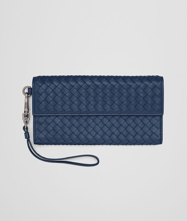 BOTTEGA VENETA CONTINENTAL WALLET IN PACIFIC INTRECCIATO NAPPA Continental Wallet D fp