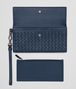 BOTTEGA VENETA CONTINENTAL WALLET IN PACIFIC INTRECCIATO NAPPA Continental Wallet D ep