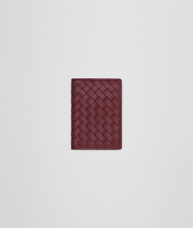 BOTTEGA VENETA CARD CASE IN BAROLO INTRECCIATO NAPPA Card Case or Coin Purse E fp