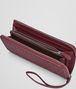 BOTTEGA VENETA ZIP AROUND WALLET IN BAROLO INTRECCIATO NAPPA Zip Around Wallet D ap