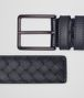 BOTTEGA VENETA LIGHT TOURMALINE INTRECCIATO BELT Belt Man rp