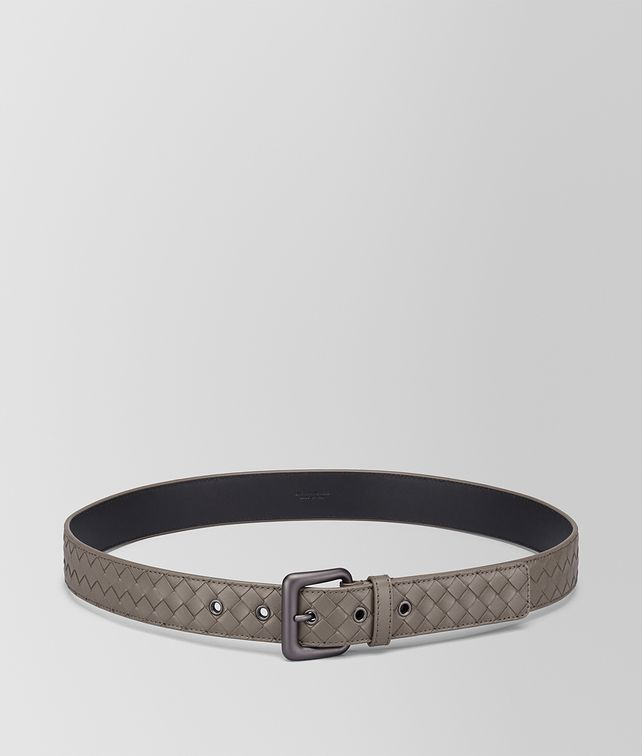 BOTTEGA VENETA STEEL INTRECCIATO BELT Belt Man fp