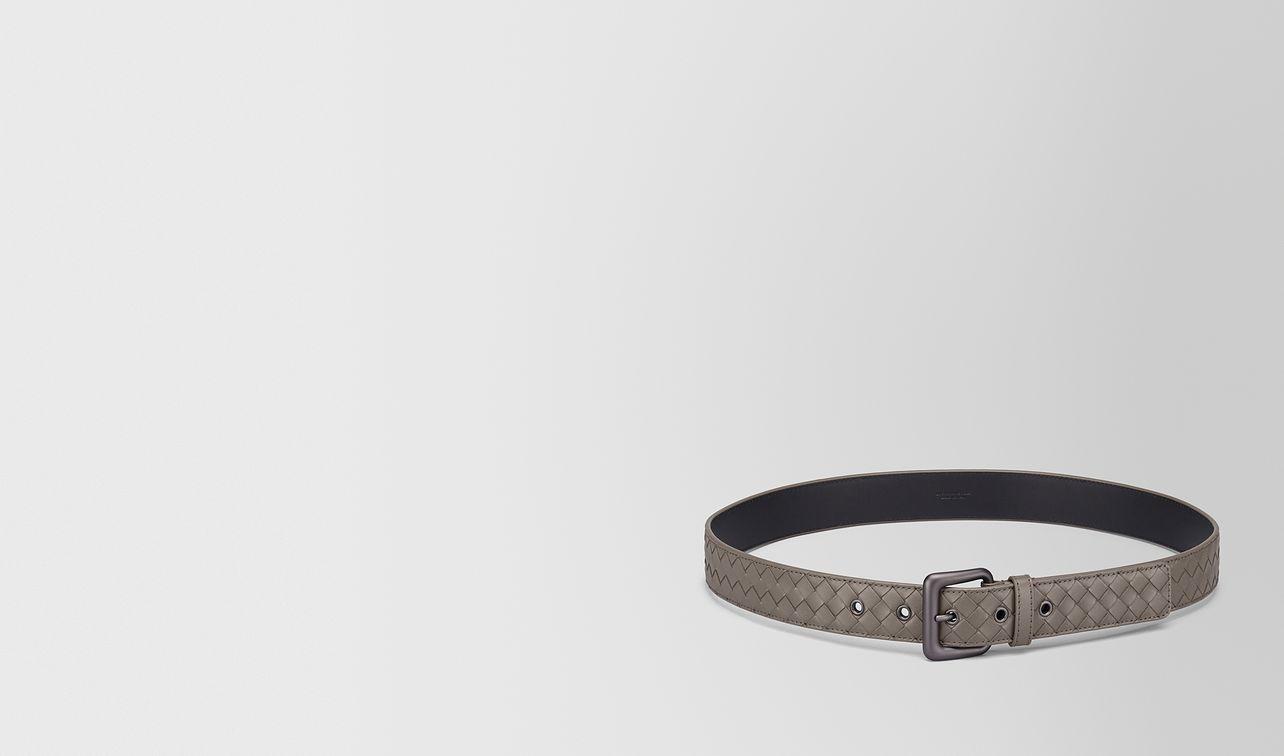 steel intrecciato belt landing
