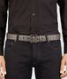 BOTTEGA VENETA STEEL INTRECCIATO BELT Belt Man ap