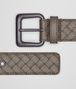 BOTTEGA VENETA STEEL INTRECCIATO BELT Belt Man rp