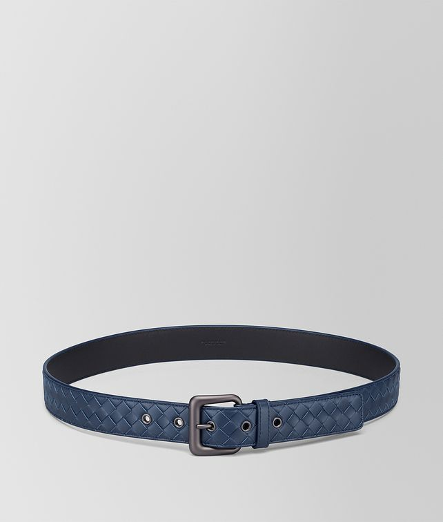 BOTTEGA VENETA BELT IN PACIFIC INTRECCIATO VN Belt Man fp