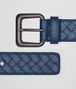 BOTTEGA VENETA BELT IN PACIFIC INTRECCIATO VN Belt U rp