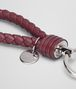 BOTTEGA VENETA KEY RING IN BAROLO INTRECCIATO NAPPA Keyring or Bracelets E ap