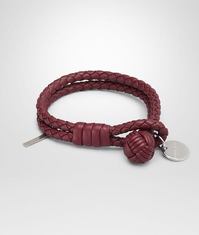 BOTTEGA VENETA BRACELET IN BAROLO INTRECCIATO NAPPA Keyring or Bracelets E fp