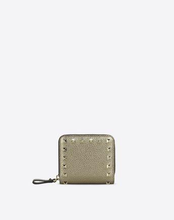VALENTINO Rockstud Compact Wallet 46456442FQ