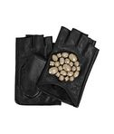 K/GEO STONES FINGERLESS GLOVES