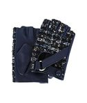 KARL LAGERFELD K/TWEED FINGERLESS GLOVES 8_f