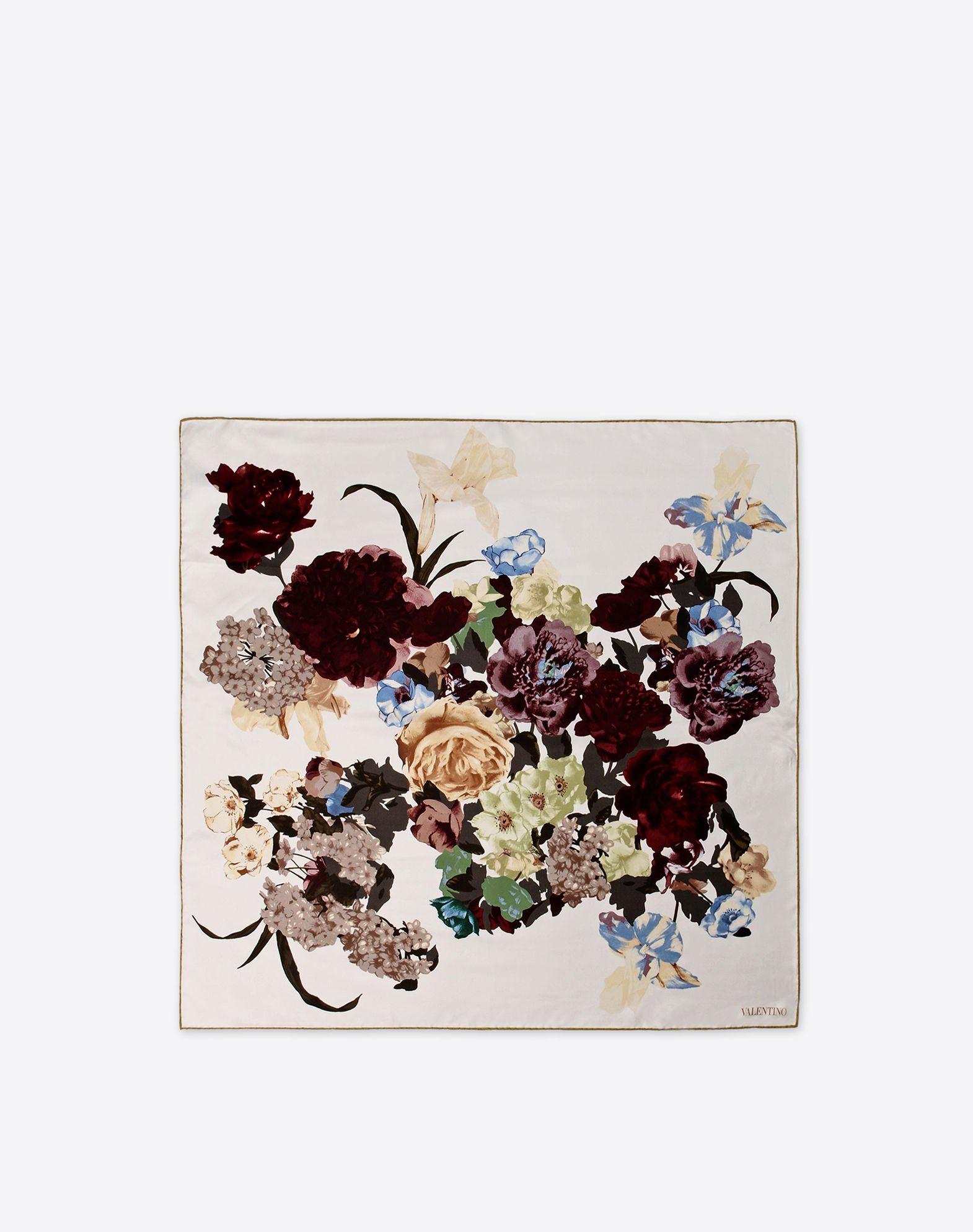 VALENTINO Twill Floral design Logo  46459903rf