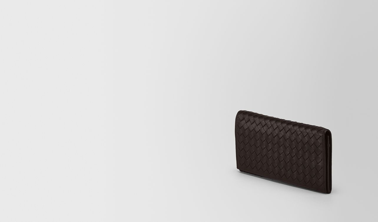 continental wallet in espresso intrecciato vn landing