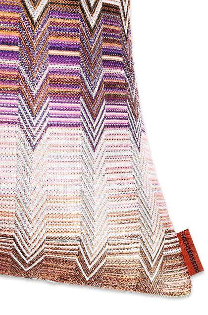 MISSONI HOME SANTAFE'_SEATTLE CUSHION Brown E - Front