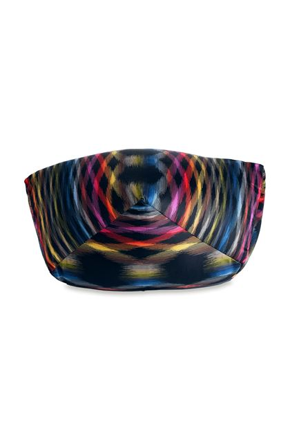 MISSONI HOME STOCCARDA DIAMANTE  PUFF Gelb E - Rückseite