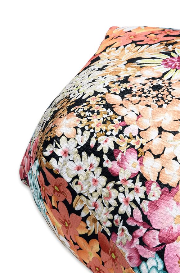 MISSONI HOME SUOMI DIAMANTE POUF E, Rear view