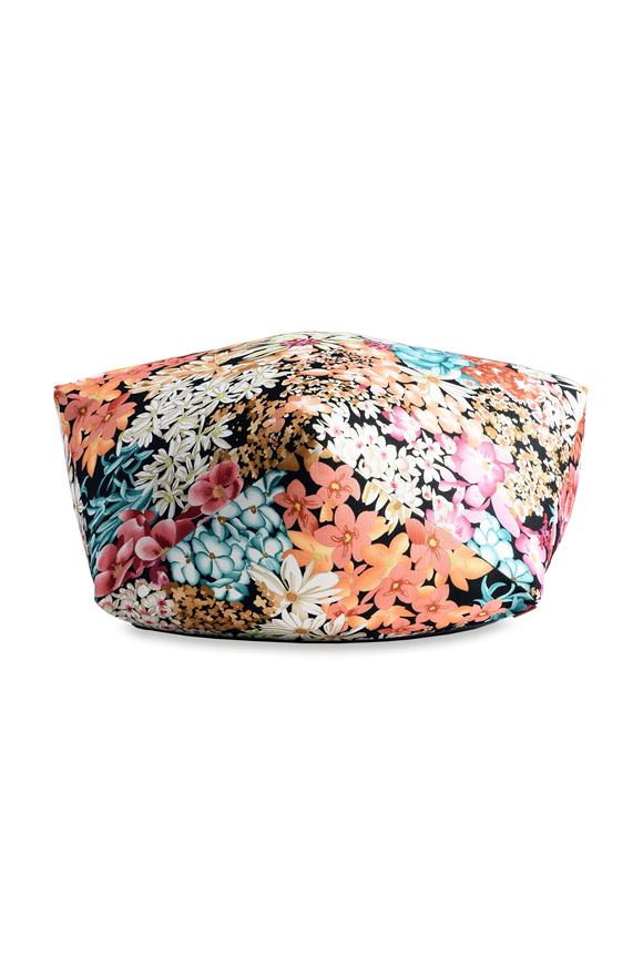 MISSONI HOME SUOMI DIAMANTE POUF E, Frontal view
