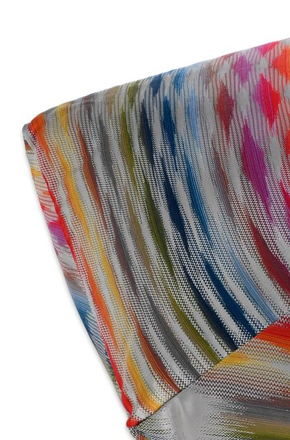 MISSONI HOME STOCCARDA DIAMANTE ПУФ Синий E - Передняя сторона