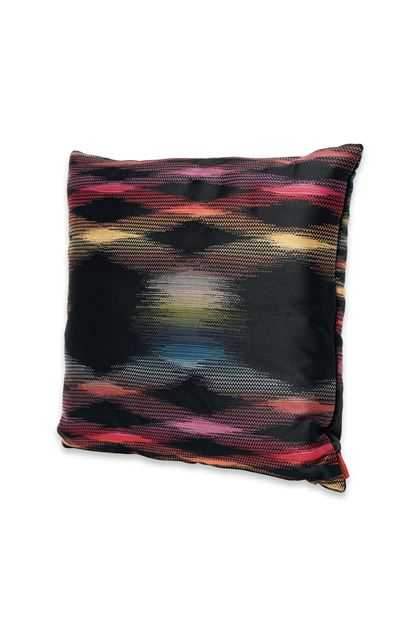 MISSONI HOME STOCCARDA CUSHION Black E - Back