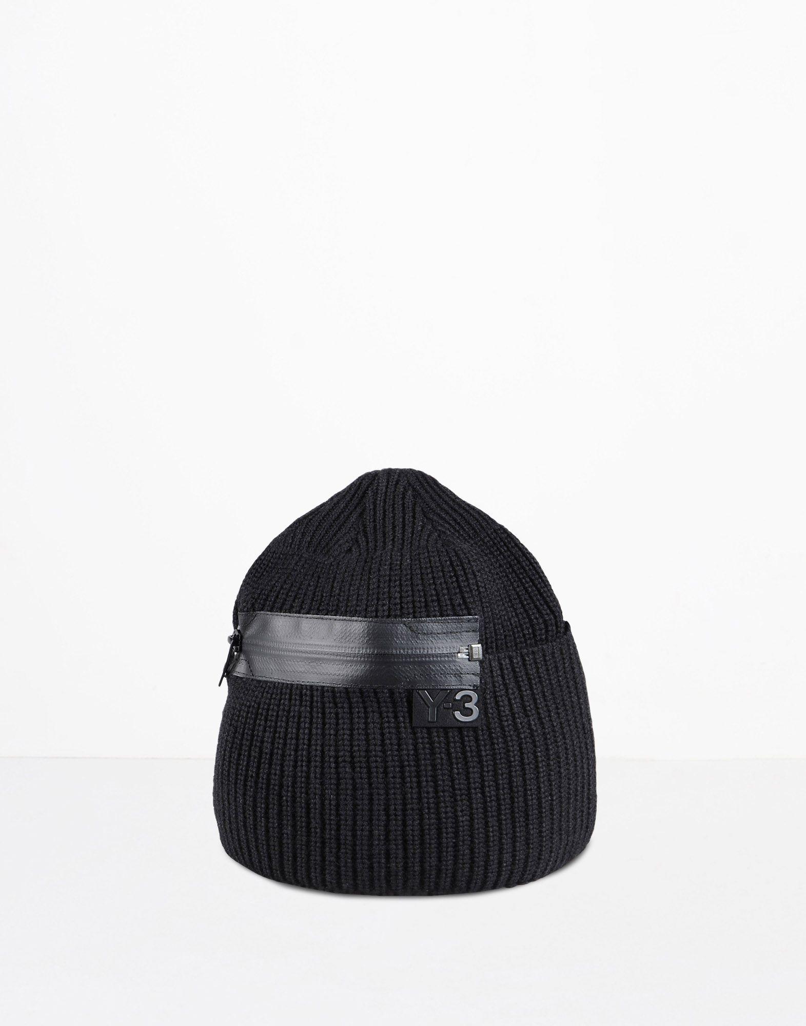 a7a3223e8  Y 3 ZIP BEANIE Caps   Adidas Y-3 Official Site