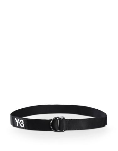 Y-3 LOGO BELT OTHER ACCESSORIES man Y-3 adidas