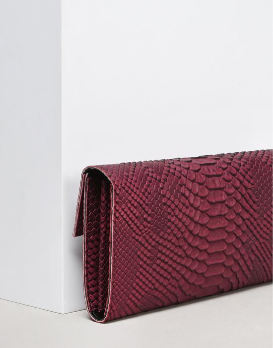 MM6 MAISON MARGIELA Python-embossed wallet Wallet D a