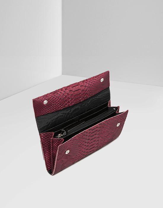 MM6 MAISON MARGIELA Python-embossed wallet Wallet D d