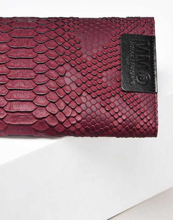MM6 MAISON MARGIELA Python-embossed wallet Wallet D e