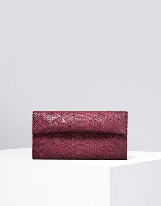 MM6 MAISON MARGIELA Python-embossed wallet Wallet D f