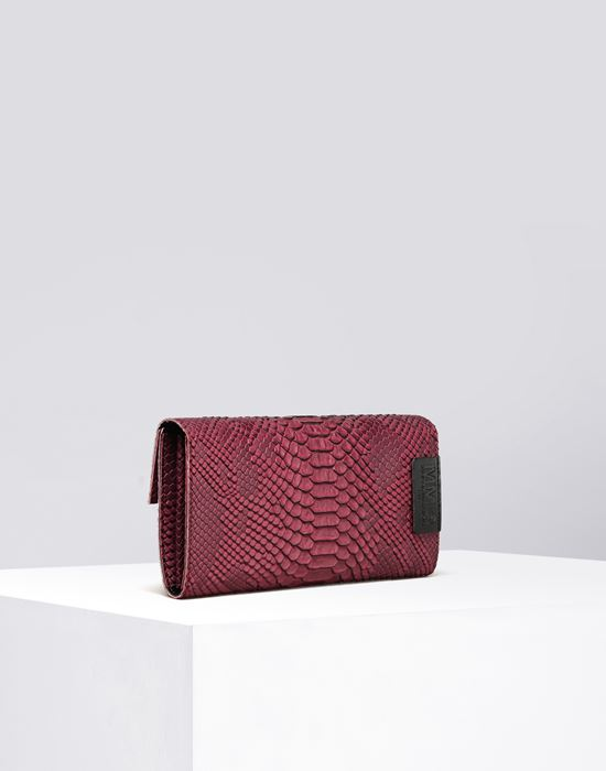 MM6 MAISON MARGIELA Python-embossed wallet Wallet D r
