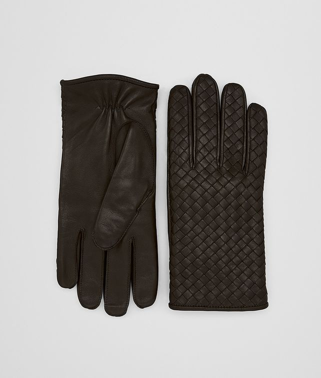 BOTTEGA VENETA ESPRESSO NAPPA GLOVE Hat or gloves [*** pickupInStoreShippingNotGuaranteed_info ***] fp