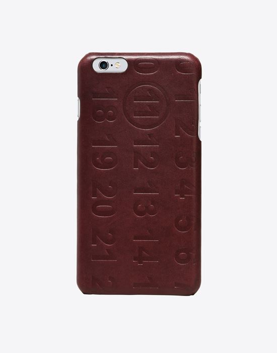 MAISON MARGIELA 11 Embossed iPhone 6 plus case Cell phone case D f