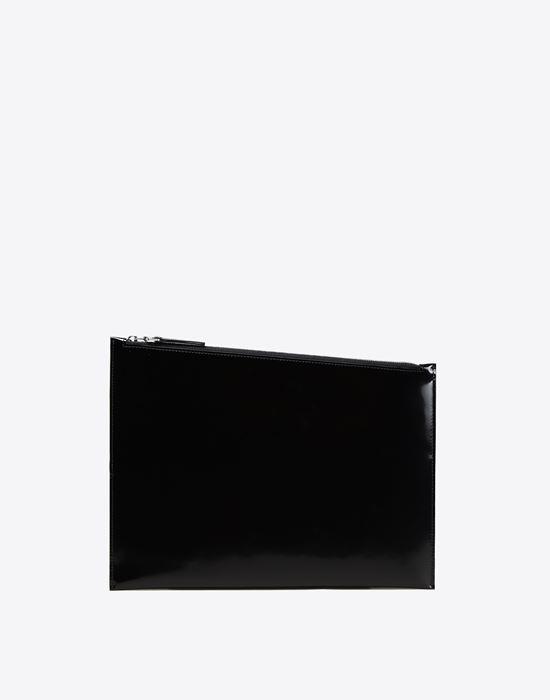 MAISON MARGIELA 11 Asymmetric calfskin pouch Clutch [*** pickupInStoreShippingNotGuaranteed_info ***] f