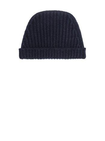 Marni Striped hat in stocking stitch Man