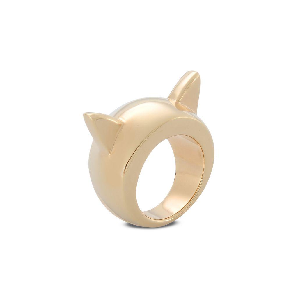 Gold Cat Ring - STELLA MCCARTNEY