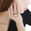 STELLA McCARTNEY Gold Cat Ring Jewelry D r