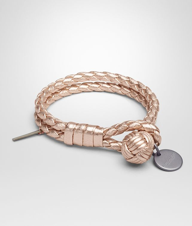bottega lyst double for bracelet in jewelry men intrecciato silver metallic veneta product
