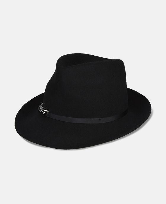 STELLA McCARTNEY Black Wool Hat Hat D c
