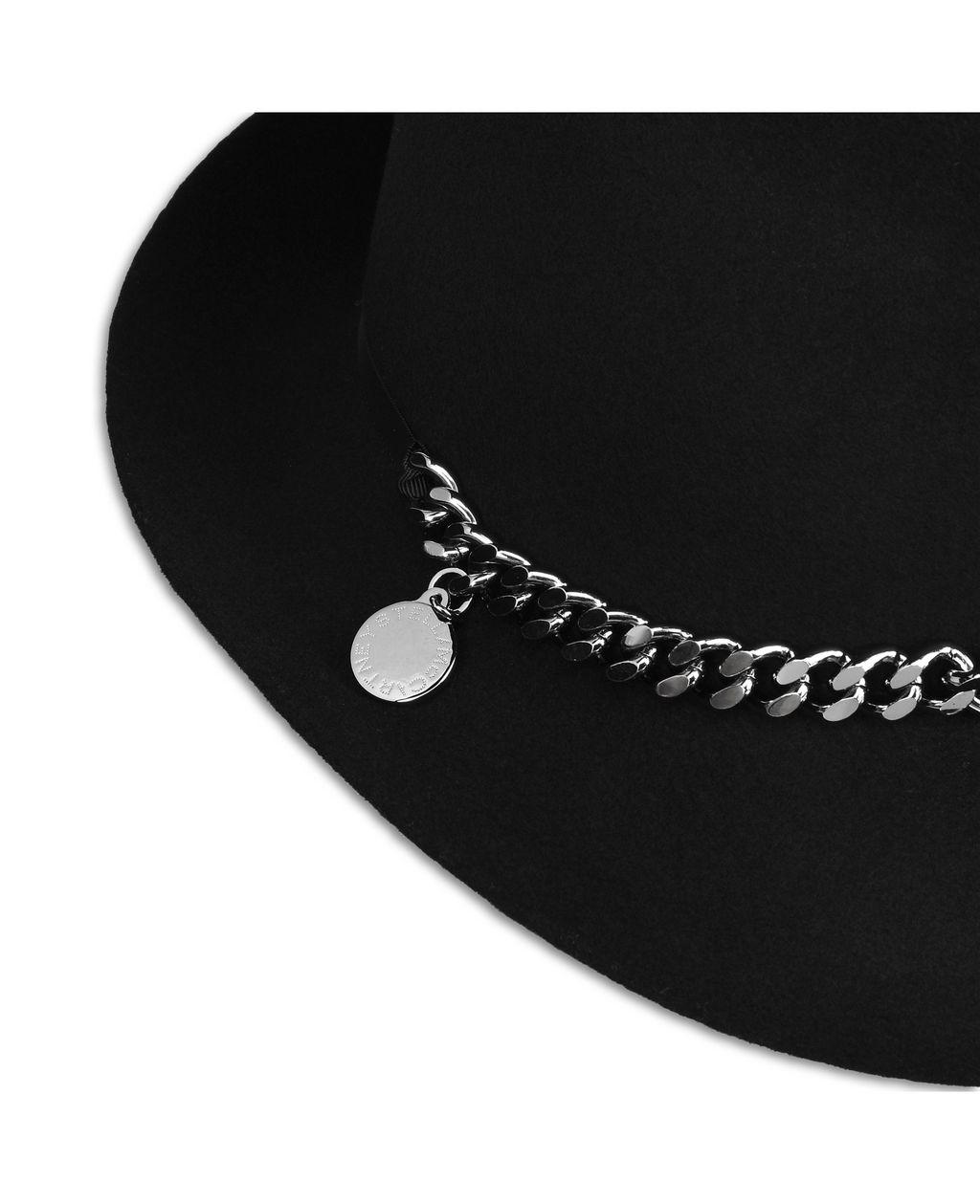 Black Wool Hat - STELLA MCCARTNEY