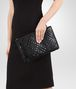 BOTTEGA VENETA LARGE DOCUMENT CASE IN NERO INTRECCIATO NAPPA AND AYERS Other Leather Accessory D ap
