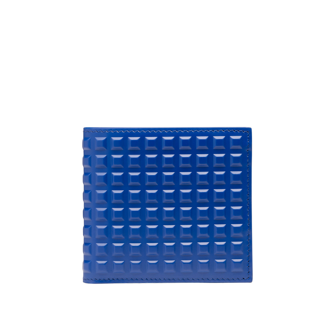 BALENCIAGA Grid Accessoire U quadratische Brieftasche Gittermotiv f