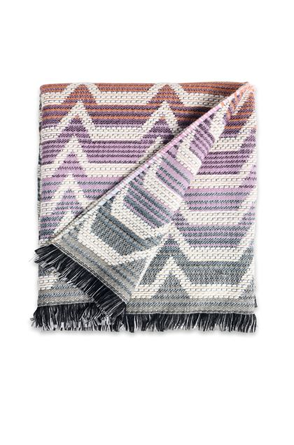 MISSONI HOME SOCRATE PLAID  Marron E - Derrière
