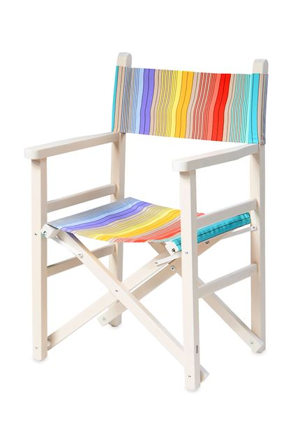 MISSONI HOME REGISTA CHAIR Red E - Back