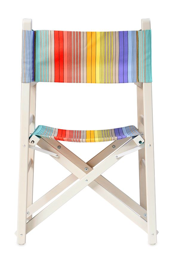 MISSONI HOME REGISTA CHAIR E, Rear view