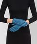 BOTTEGA VENETA GLOVE IN PEACOCK NAPPA, INTRECCIATO DETAILS Scarf or other D rp