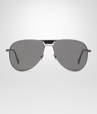 ブラック チタニウム グレー レンズ サングラス