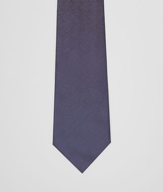 TIE IN MIDNIGHT BLUE BLACK SILK