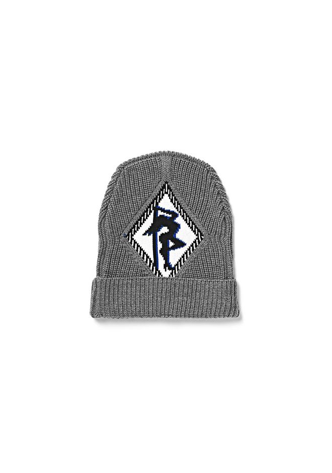 ALEXANDER WANG accessories RIB BEANIE WITH ARGYLE GIRL