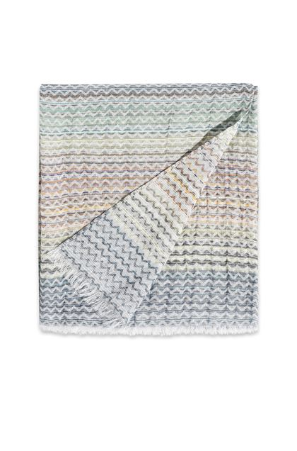 MISSONI HOME SIMONE THROW  Green E - Back
